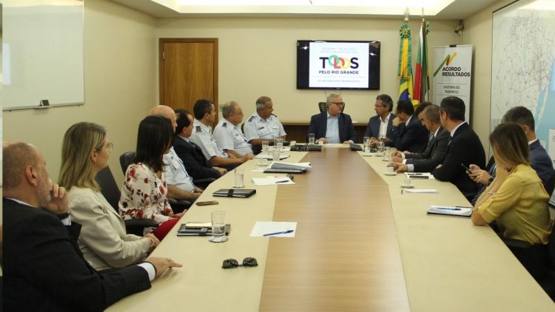 Em reunião, foram discutidos ajustes para a binacionalização do aeroporto Cerro Chapéu