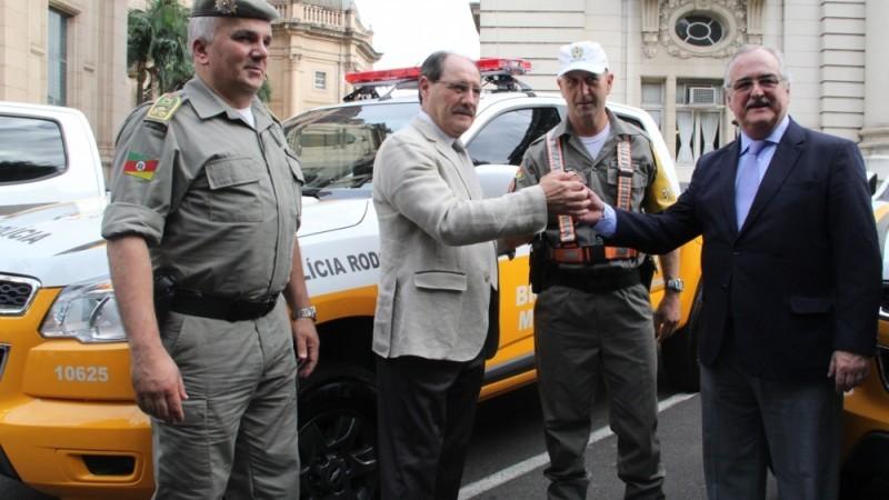 Em 2016, 22 viaturas foram entregues para a PRE pelo governador José Ivo Sartori, e o secretário dos Transportes, Pedro Westphalen
